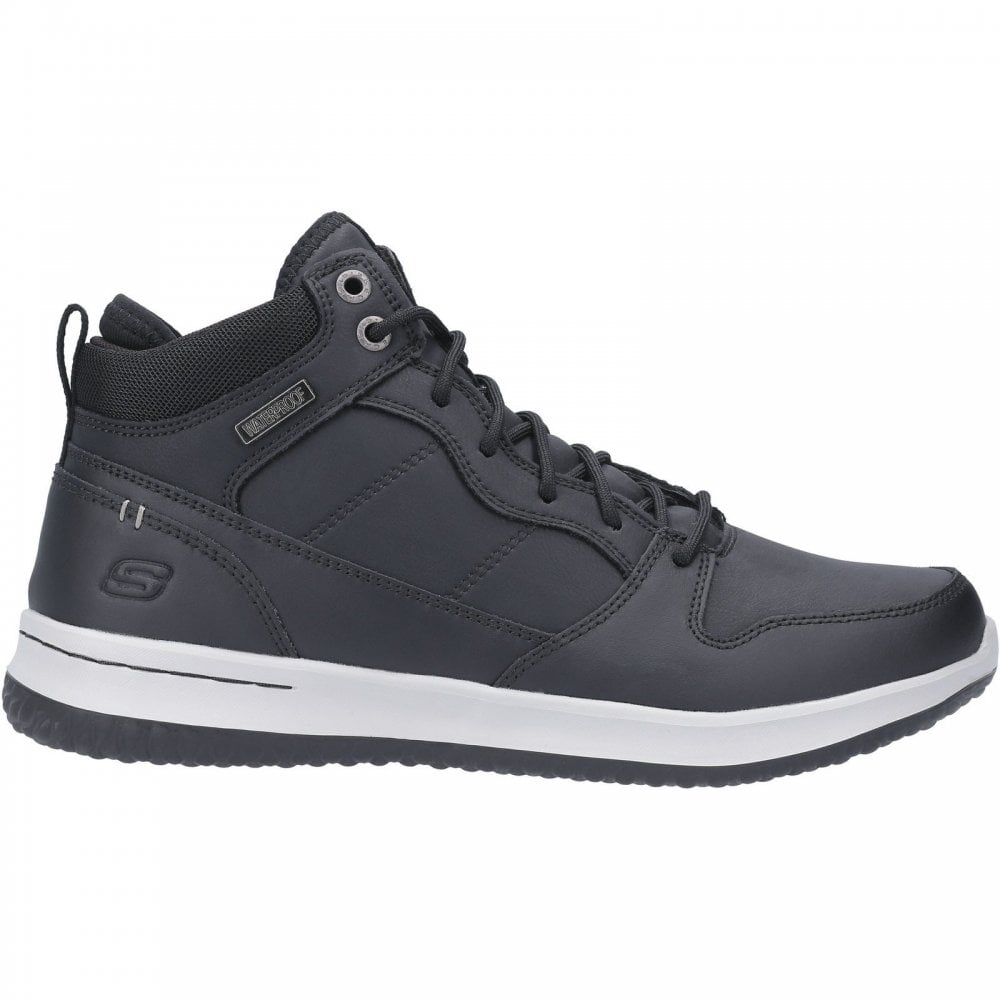 precedente sustracción Sin cabeza  Skechers Delson Mid Waterproof Leather Lace Up Shoe - Mens from ...