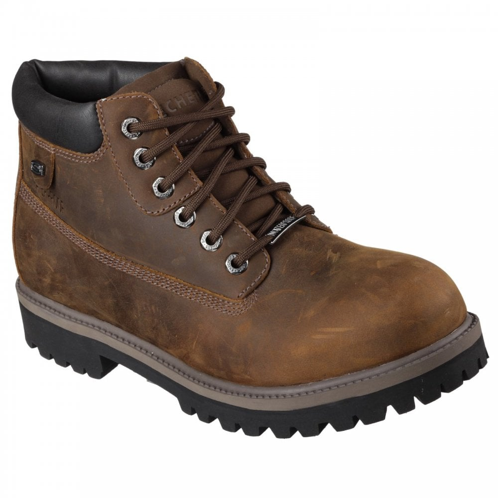 Gladys Semicírculo trabajador  Skechers Sergeants Verdict Boot - Mens from Shopshoe Ltd. UK